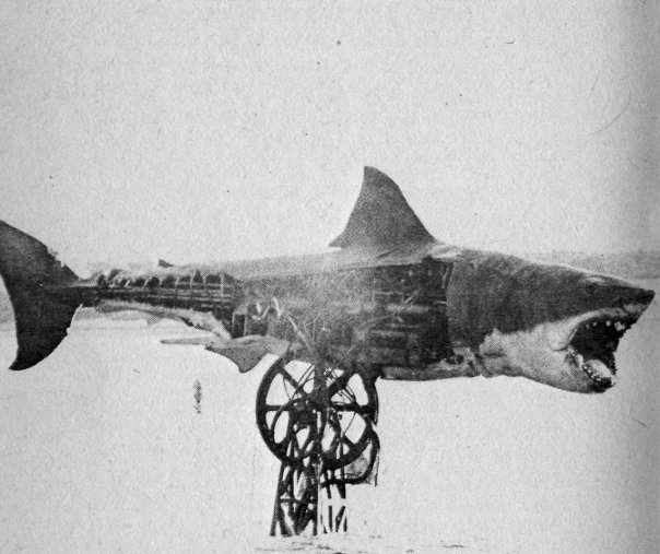 bruce the mechanical shark from JAWS