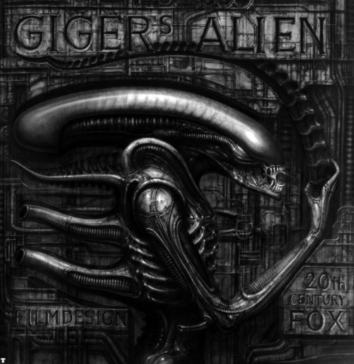 giger's alien film design book