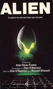 alien novelisation cover